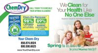 Chem-Dry Postcard Spring Front Style 10
