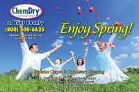 Chem-Dry Postcard Spring Front Style 6