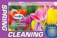 Chem-Dry Postcard Spring Front Style 7